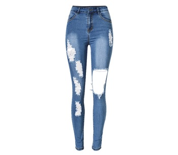 classic chic search for original cheapest sale Oem Boyfriend Hole Ripped Jeans Women High Waist Pants Cool Denim Vintage  Straight Jeans For Girl Casual Ladies Slim Jeans - Buy High Waist ...