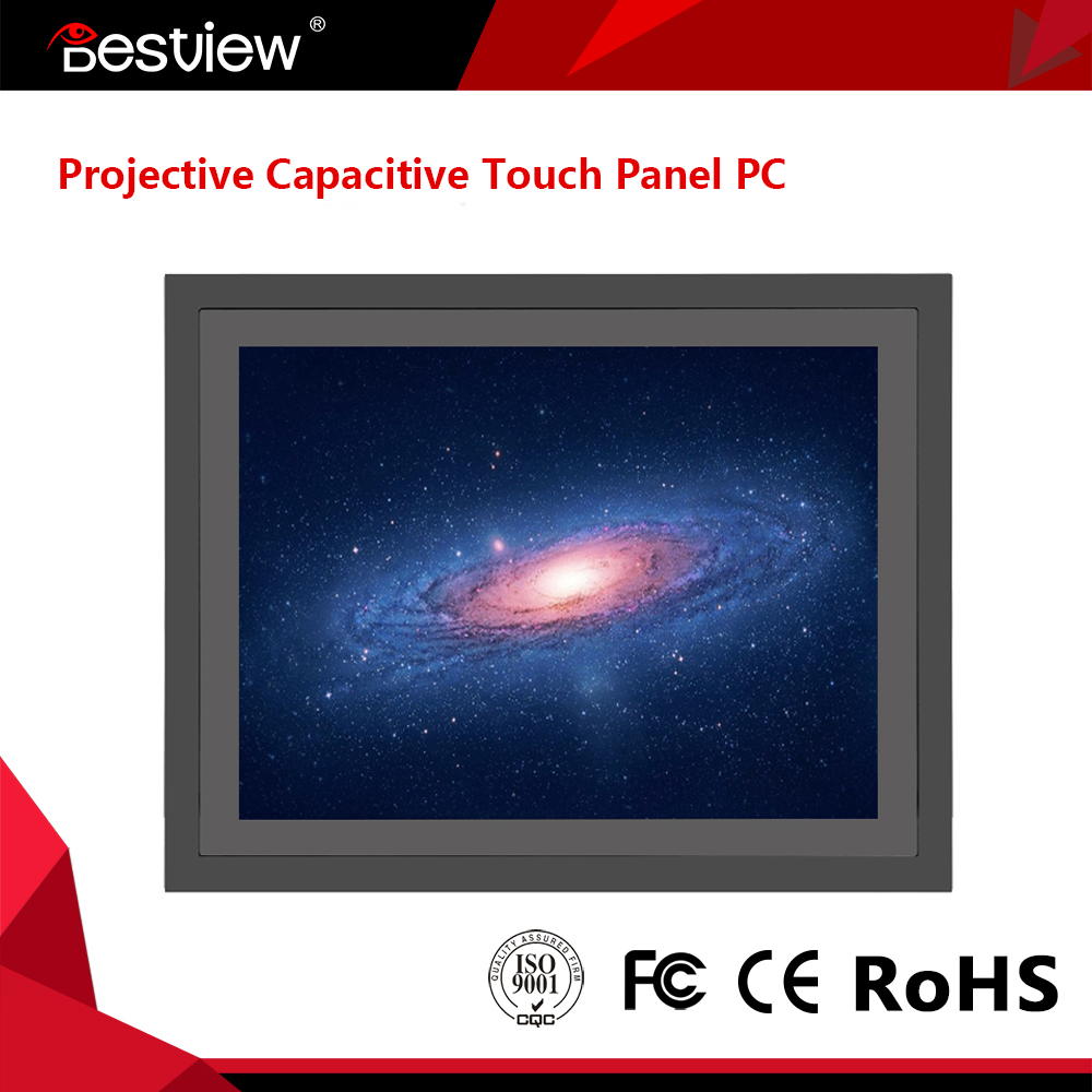 ODM OEM Factory capacitive touch screen monitor outdoor monitor multi touch monitor with vga hdmi dvi input