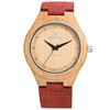 Wholesale Fashion Bamboo Watch Men Custom Logo Well Wood Wrist Watch Cheap Handmade Leather Strap 2016 Women Wooden Watches