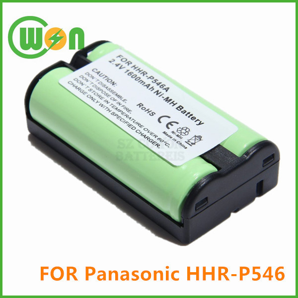Replacement Battery for Panasonic P-P546 KX-TG1000N KX-TG1050N KX-TGA100N KX-TGA420B PQWBTG1000N Cordless Phone Battery