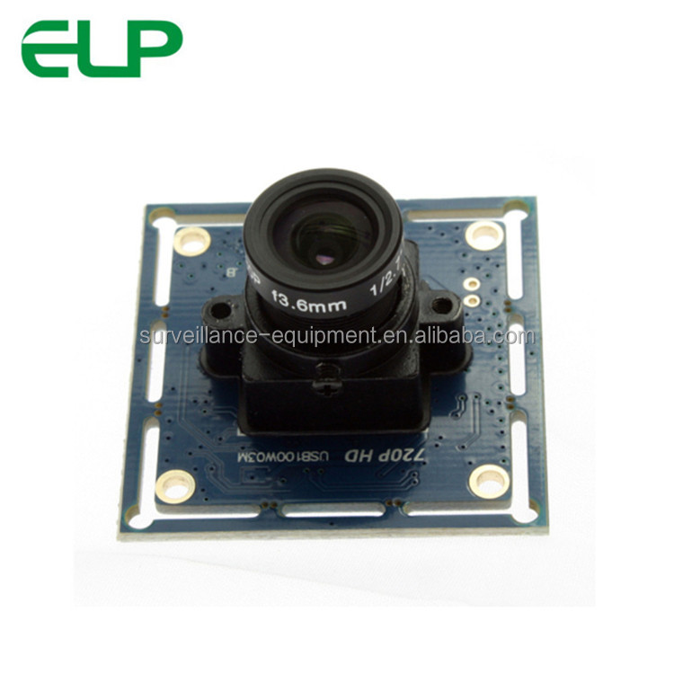 1280x720 USB2.0 720p oem ccd led usb camera module for POS system