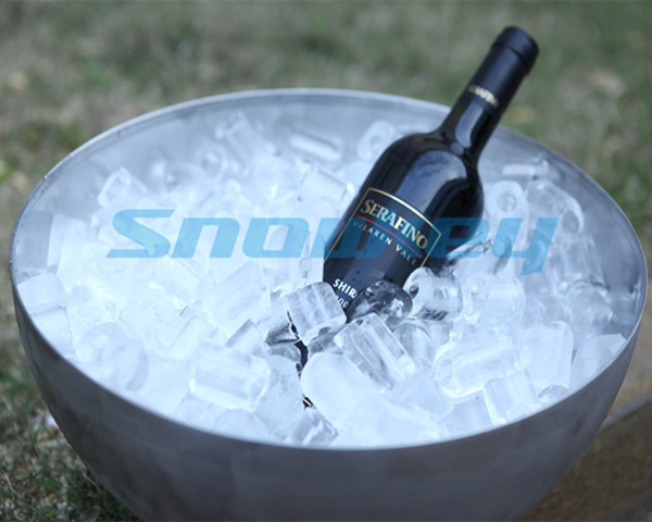 20tons ice tube machine for drinks and wine for hotels and bars with CE approved