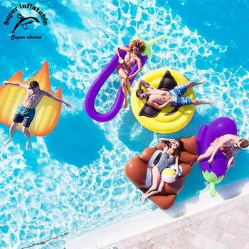 Giant Custom Best Adult Inflatable Swimming Emoji Pool Float Manufacturer