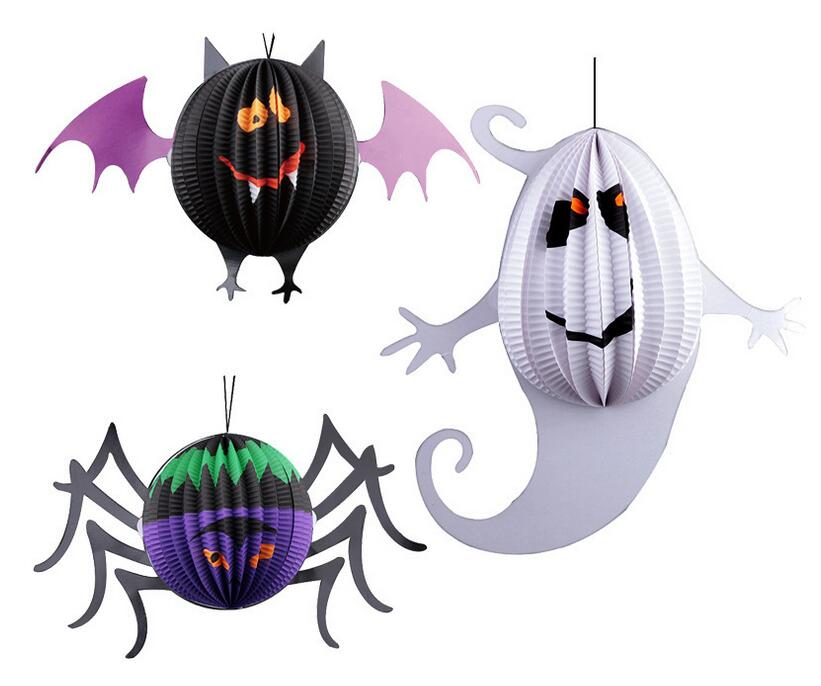 Special Shaped Halloween Party Lantern Paper