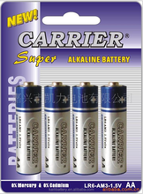 R6 4PCS Blister battery