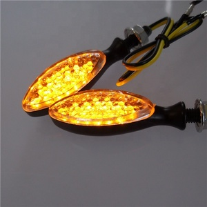 aftermarket supplier metal turn signal with smoke lens metal led indicators E-mark for Dirtbike motorcycle