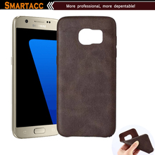 Retro Vintage PU Leather Slim Mobile Phone Case For Samsung Galaxy S7