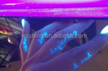Oem Luminous Stickerbody Skin Safe Sticker Tattoo Buy Glow In The
