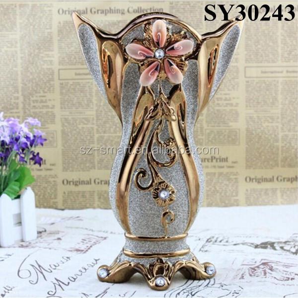 outdoor metal vases gold galvanized vase gold galvanized vase suppliers and