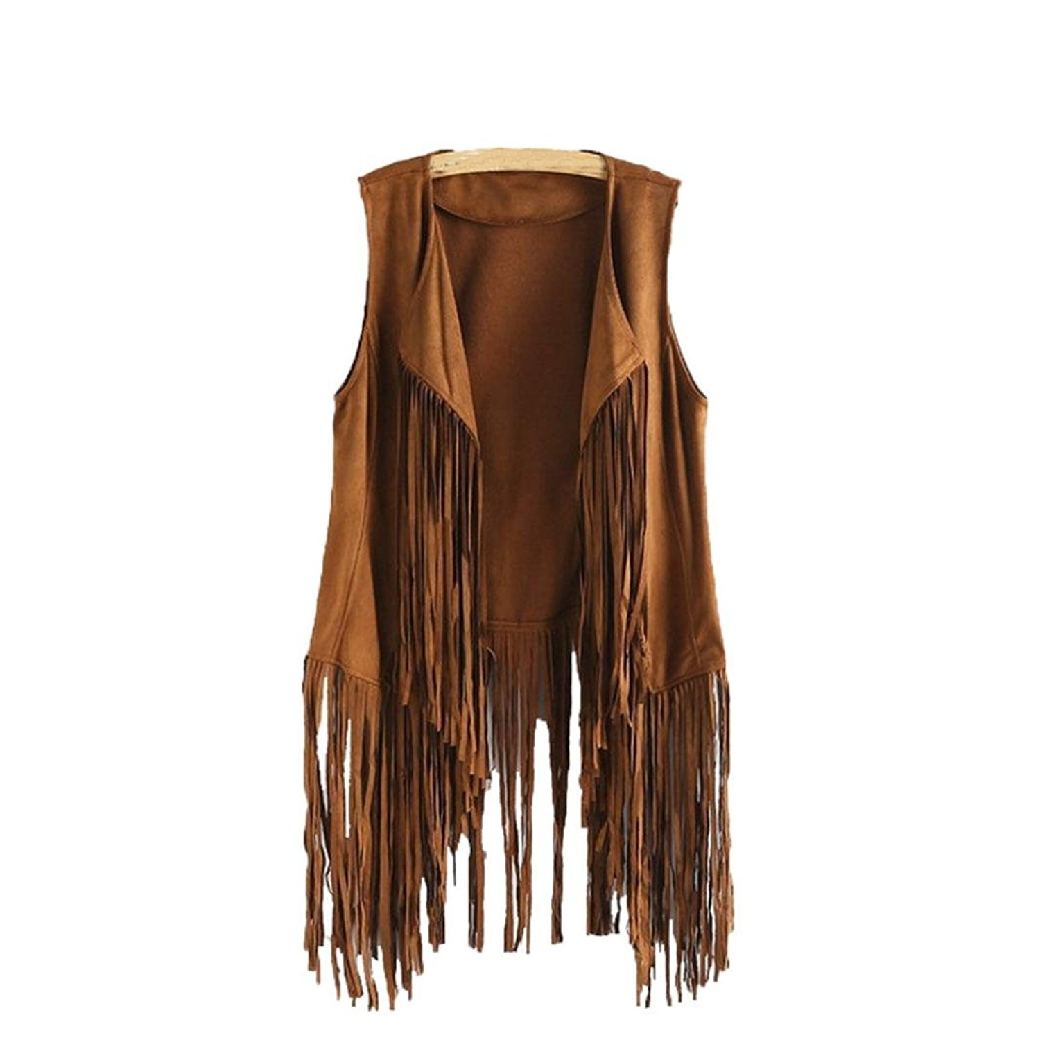 Beaded /& with Hair Real Leather Jacket SRHides Mens Western Fringed