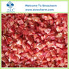Bulk Packaged Frozen Red Capsicum Dices