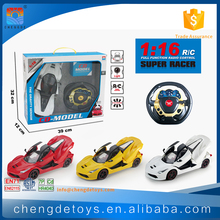 5 Channels 1:16 RC Racing Car For Kids Gasoline RC Car 100KM/H With Opening Doors