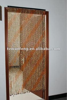 Gentil Bamboo Beaded Door Curtain