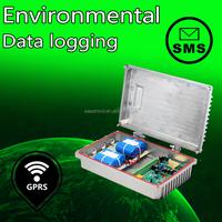 Environmental data logging wind speed recorder ble temperature humidity sensor data logger