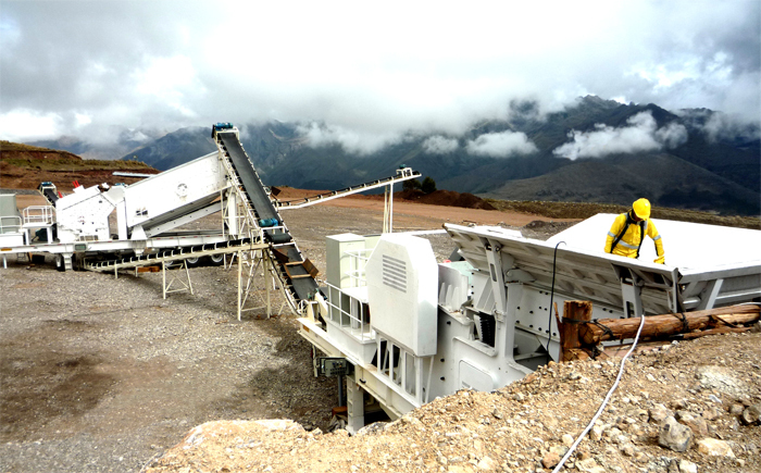 China Hot Sale Portable Type Series Mobile Impact Crusher