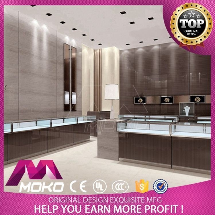 Best Price SGS, CE, UL Jewellery Shops Interior Design Images