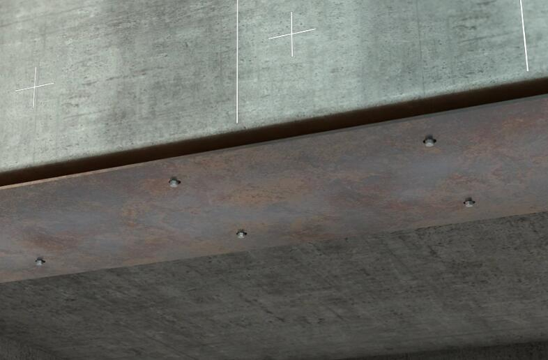 reinforced concrete beams strengthened by epoxy bonded steel plates