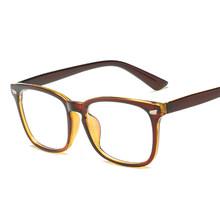 SO & EI Новинка Ретро плоское зеркало для мужчин и женщин анти-синие очки синяя пленка очки Рамка Компьютерные очки желтые линзы(Китай)