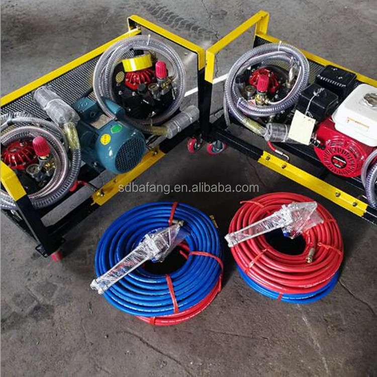 Electric and Gasoline Power Liquid Rubber Coating Spray Machine