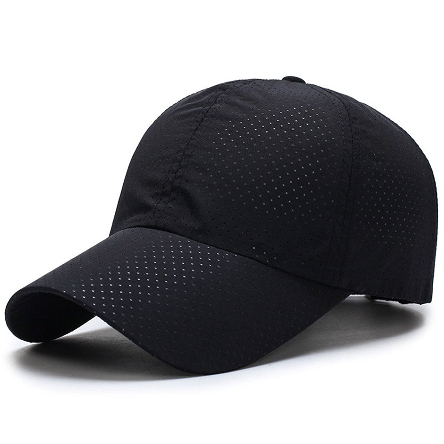 64582bb46a1 Get Quotations · FUNY Summer Baseball Cap Quick Dry Cooling Sun Hats Sports  Caps Mesh Hat for Golf Cycling