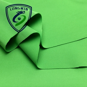 China factory 90 polyester 10 spandex interlock knit fabric for sportswear