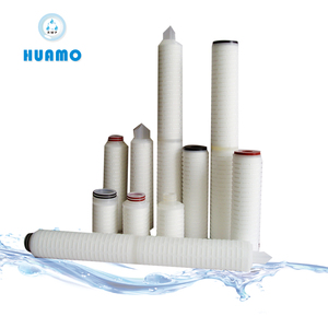 PES 20 Inch Long Cartridge Filter For Beverage Industry ,Micro Filter Cartridge DOE adaptor polyethersulfone membrane
