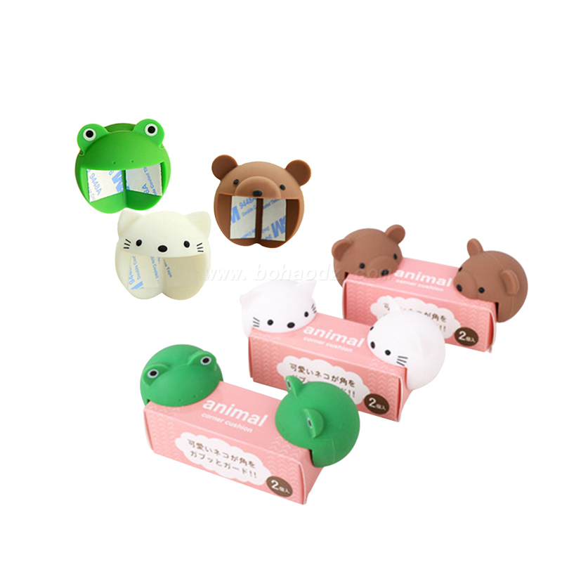 Animal Cartoon Shape Silicone Corner Guards For Protect <strong>Baby</strong>