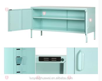 Modern Bedroom Furniture Metal Storage TV Stand Cabinet