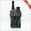 taxi 2 way radio BAOFENG dualband radio uv-3r plus UV-3R+ camouflage 136-174 / 400-470MHz wireless walkie talkie