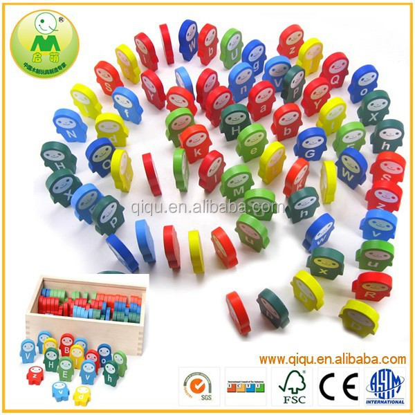 Kid educational ABC domino english alphabet learning <strong>toys</strong>