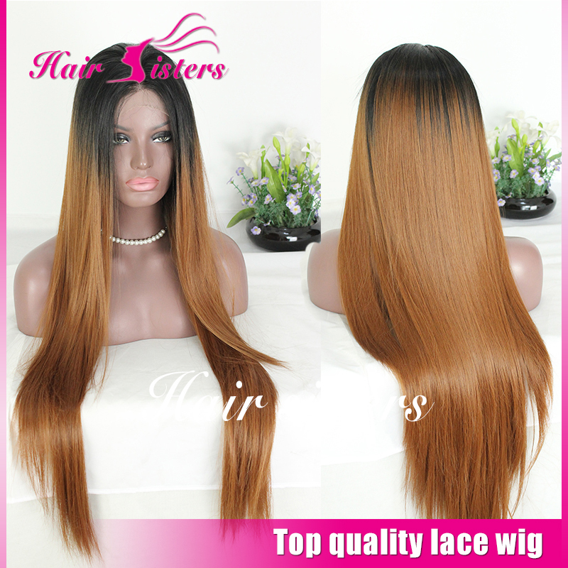Prime Stylish Long Hair Hair Styles Silk Straight Wigs Synthetic Lace Short Hairstyles Gunalazisus