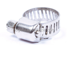 China high quality Stainless Steel Mini Jubilee Fuel Hose Clamps
