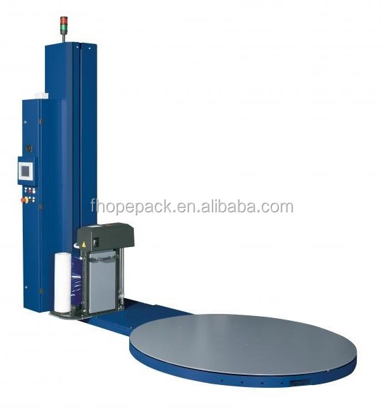 Automatische pallet film wrapping machine en wrapper