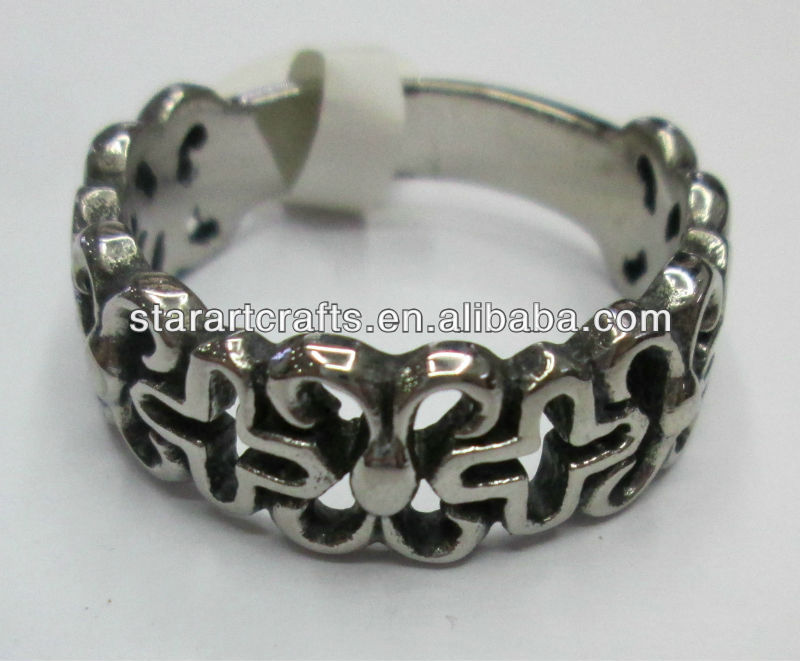 SRM502 fashion stainless steel rings jewlry
