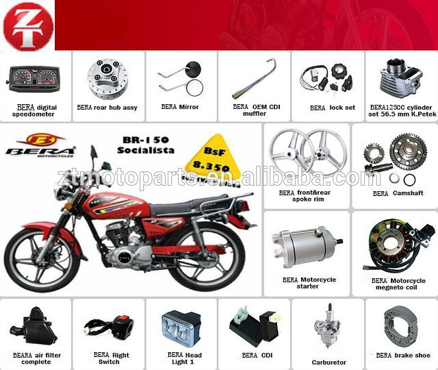 China Suppliers!! Bera Br150 Jaguar150 Motorcycle Parts Motorcycle ...