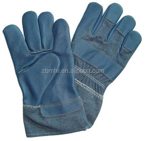 Brand MHR Hot!Reinforced leather horse riding gloves cheap welding gloves