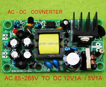 Ac/dc Power Supply Module Circuit Buck Converter 120v 110v 220v 230v 240v  Ac To 12v 5v Dc Step Down Voltage Regulator - Buy Dc Ac Inverter Dc To Ac