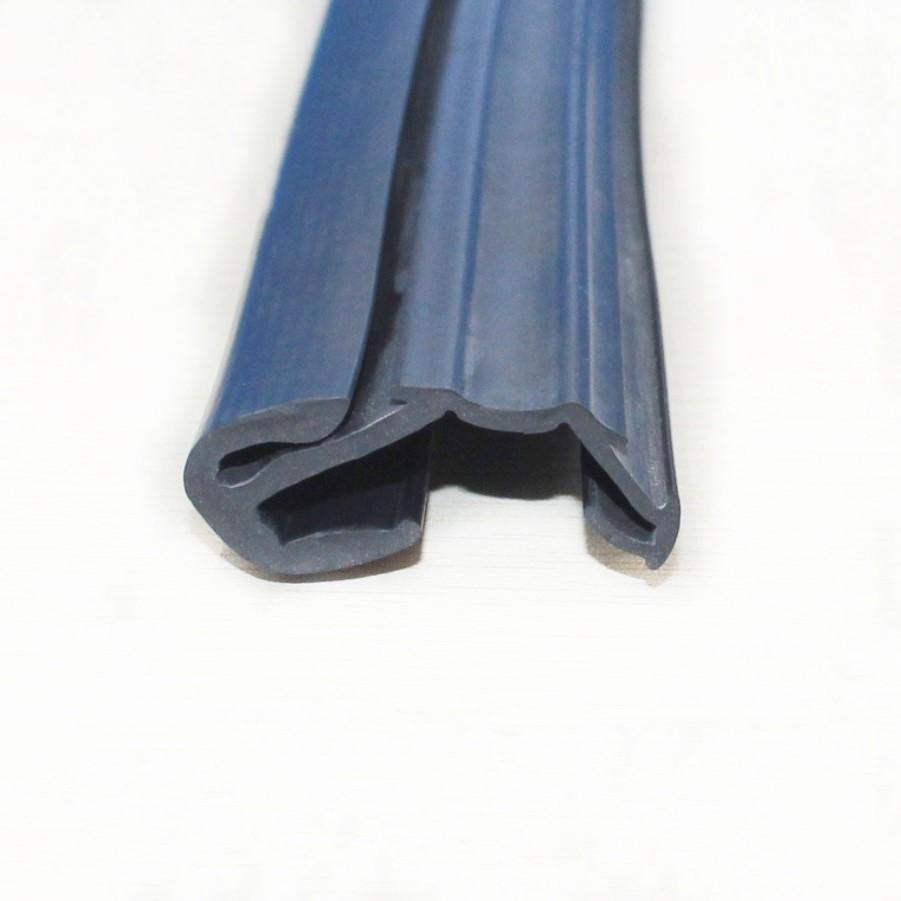 EPDM rubber flocked weather strip