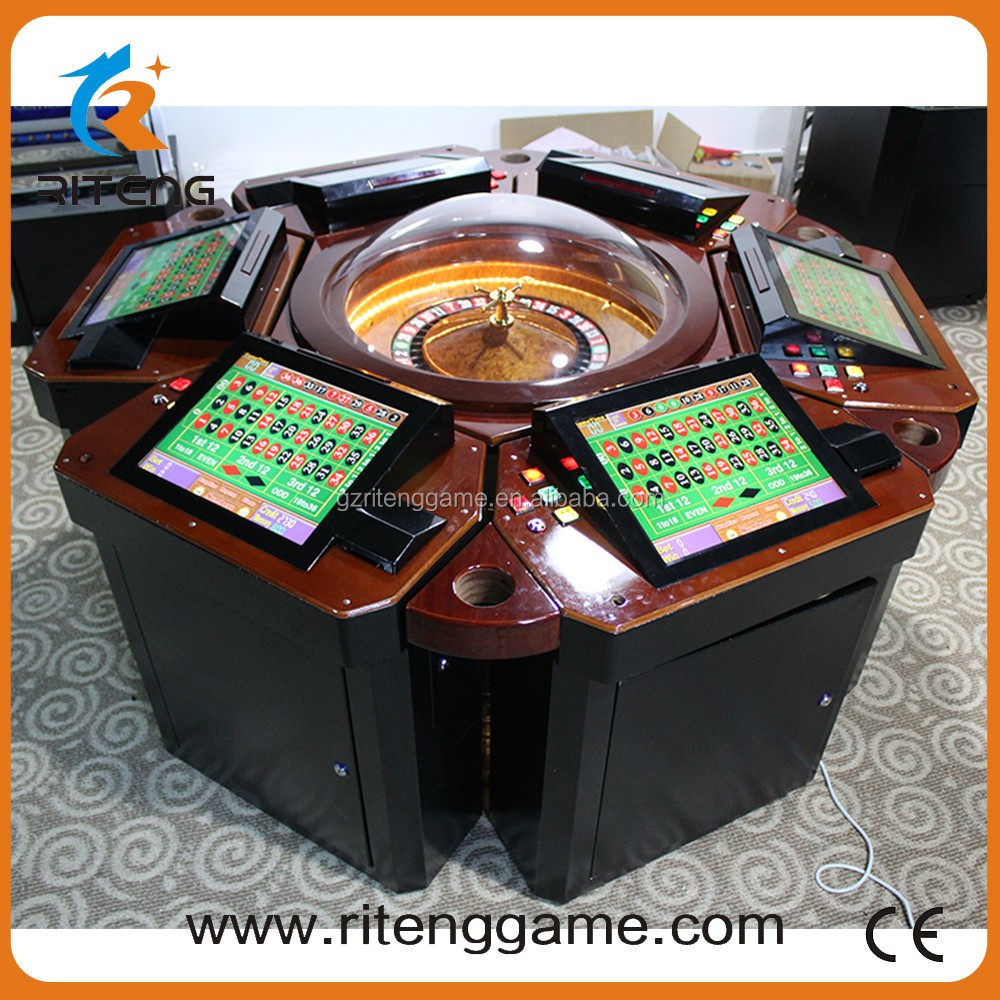 17 inch touch LCD Display casino roulette table machine hot casino coin pusher roulette game machine