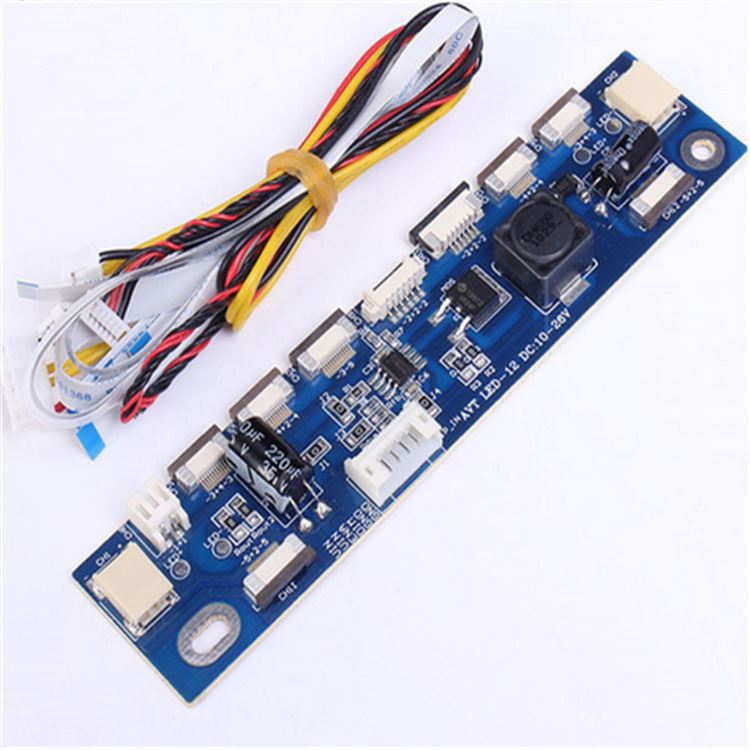 "Universal Interface LED Step Up Module 2P 6P 10P 12P 6-20V Support 15-24"" LED LCD Voltage Boost Board 15-24 inch"