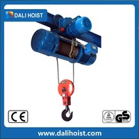 various ground travvalling 3T electric wire rope hoist