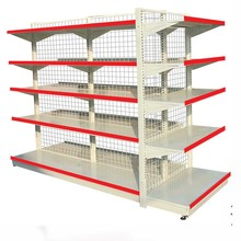 Supermarket Metal gondola grid shelving