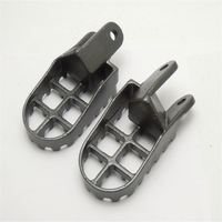 Motocross Foot Pegs For XR650R 2000-2005 Black