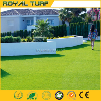 5m width available, Unique design artificial grass for garden,decoration or landscaping