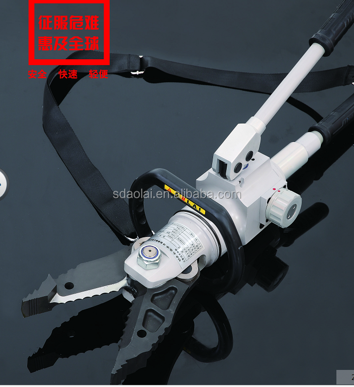 Safety rescue tools hand operation 720bar high pressure manual combi tool hydraulic combination