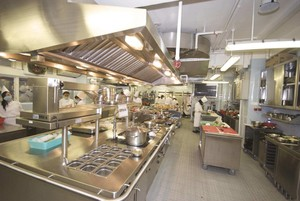 commercial restaurant kitchen project