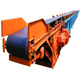 High efficiency CE certificate powered belt conveyor systems for stone and sand transport