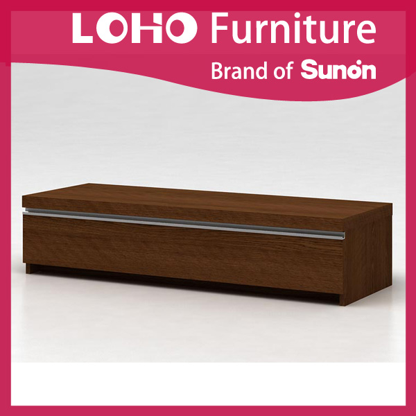 Wholesale new model waterproof simple plywood living room wooden tv cabinet design with showcase