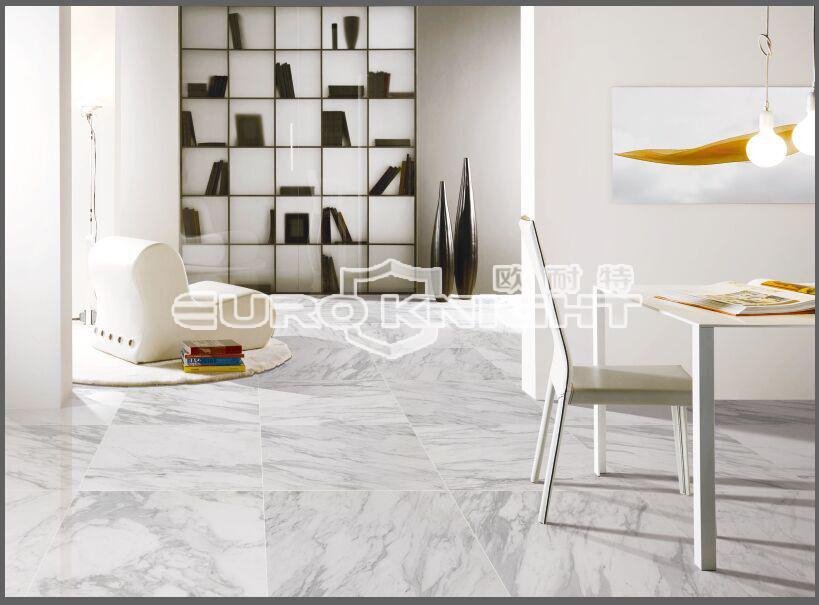 Cheap White Carrara Ceramic Tile Marble Look At Price Dubai - Buy ...