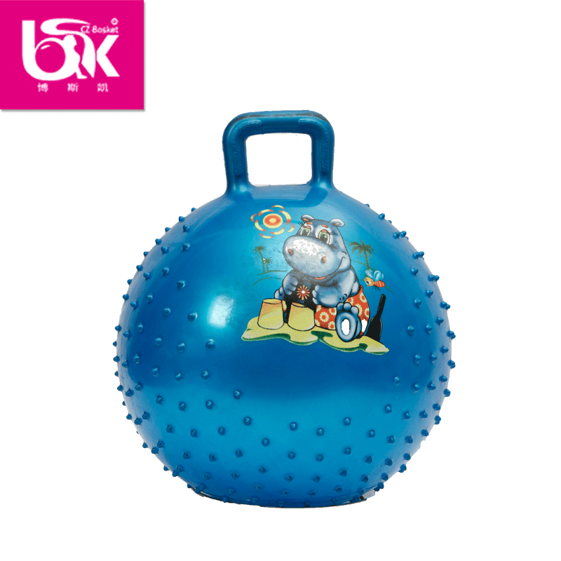 50cm kids gym ball,jumping ball,hopper gymball